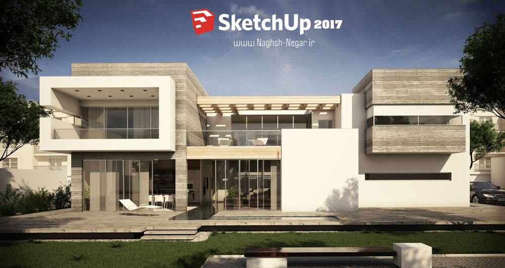 2017 64 sketchup for Studio v architecture